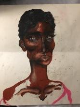 Deconstructed Portrait by Meg Bonillia